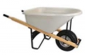 Wheelbarrow one wheel