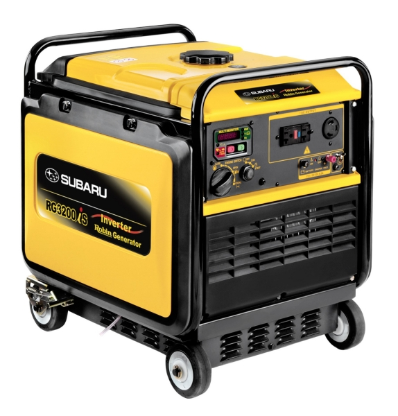 Subaru RG3200is Portable Generator for rent sunflower equipment rental topeka lawrence blue springs kansas
