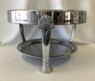 clam silver round cake stand for rent lawrence sunflower rental topeka blue springs kansas missouri