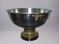 Silver and gold punch bowl for rent lawrence sunflower rental topeka blue springs kansas missour