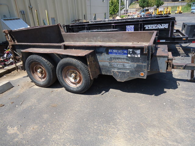 Virnig hydraulic dump trailer for sale or rent sunflower equipment rental topeka lawrence blue springs kansas