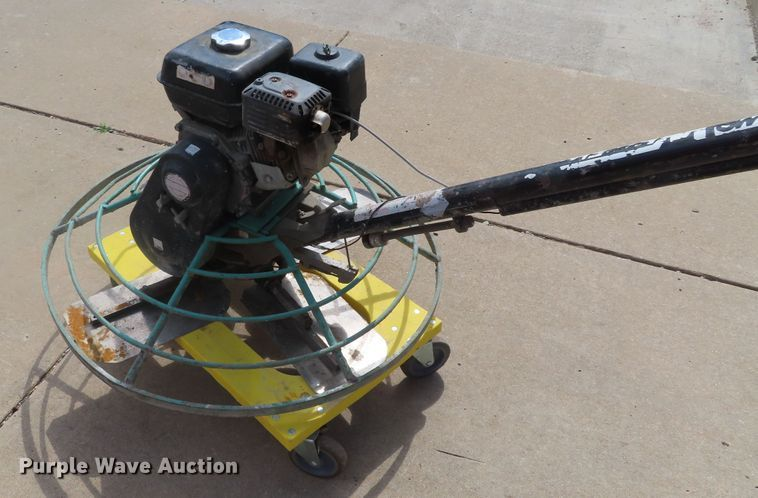 Multiquip Whiteman Power Trowel for sale or rent sunflower equipment rental topeka lawrence kansas blue springs missouri