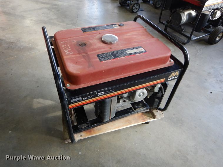 Mi-T-M Generator 6000 for sale or rent sunflower equipment rental topeka lawrence kansas blue springs missouri