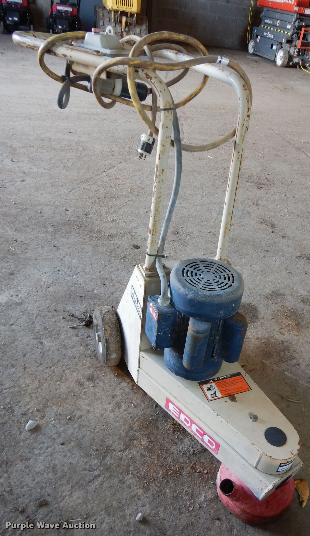 Edco Concrete Grinder for sale or rent sunflower equipment rentals topeka lawrence kansas blue springs missouri